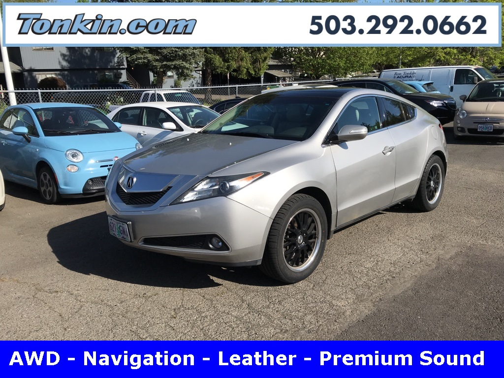 Pre-Owned 2010 Acura ZDX Technology Package