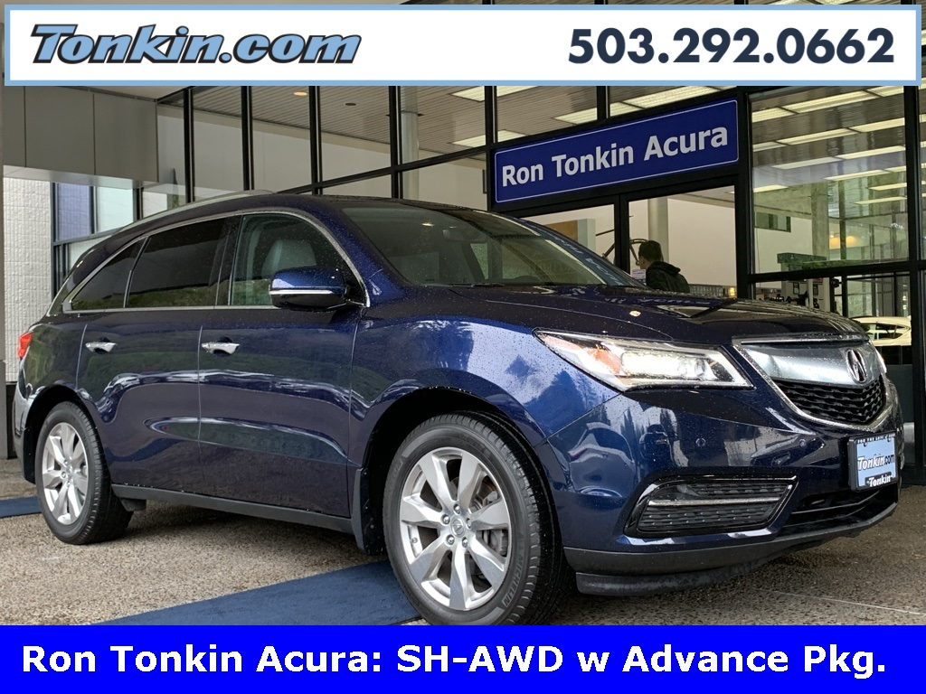 Pre-Owned 2016 Acura MDX 3.5L SH-AWD w/ Advance Package