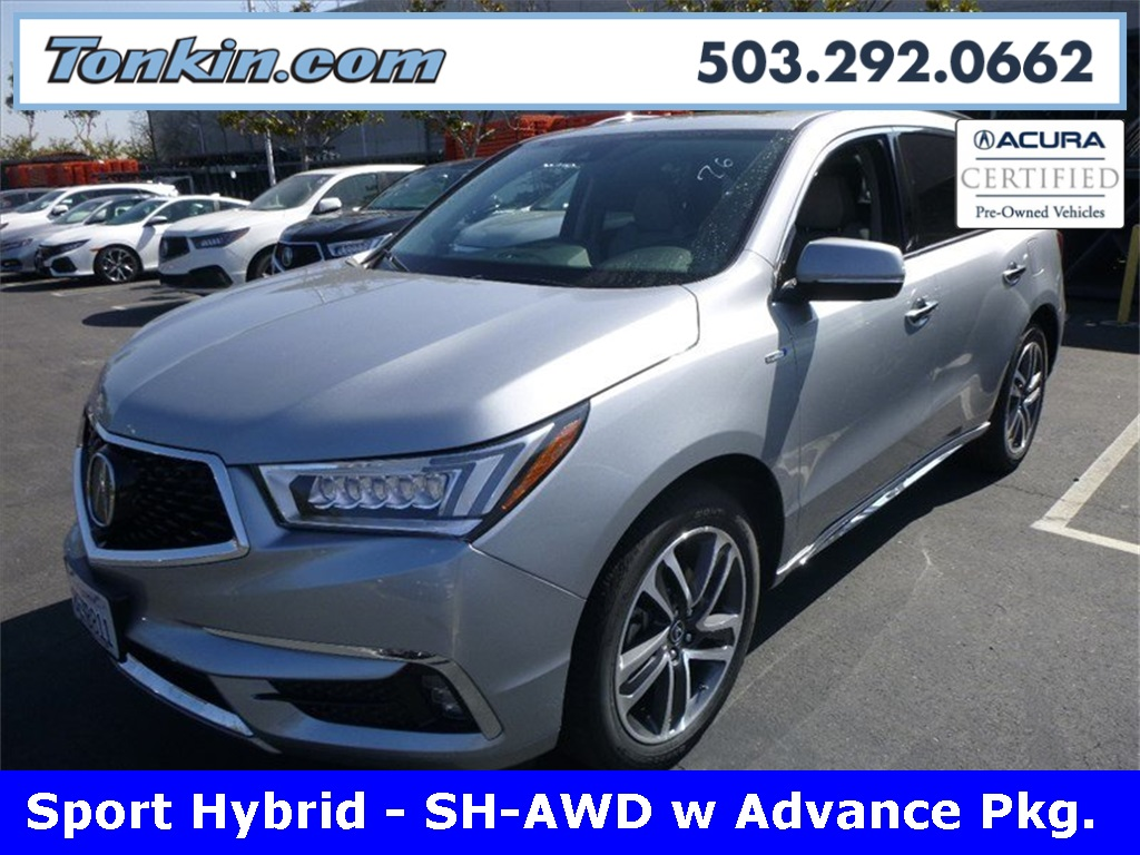 Pre-Owned 2019 Acura MDX Sport Hybrid 3.0L