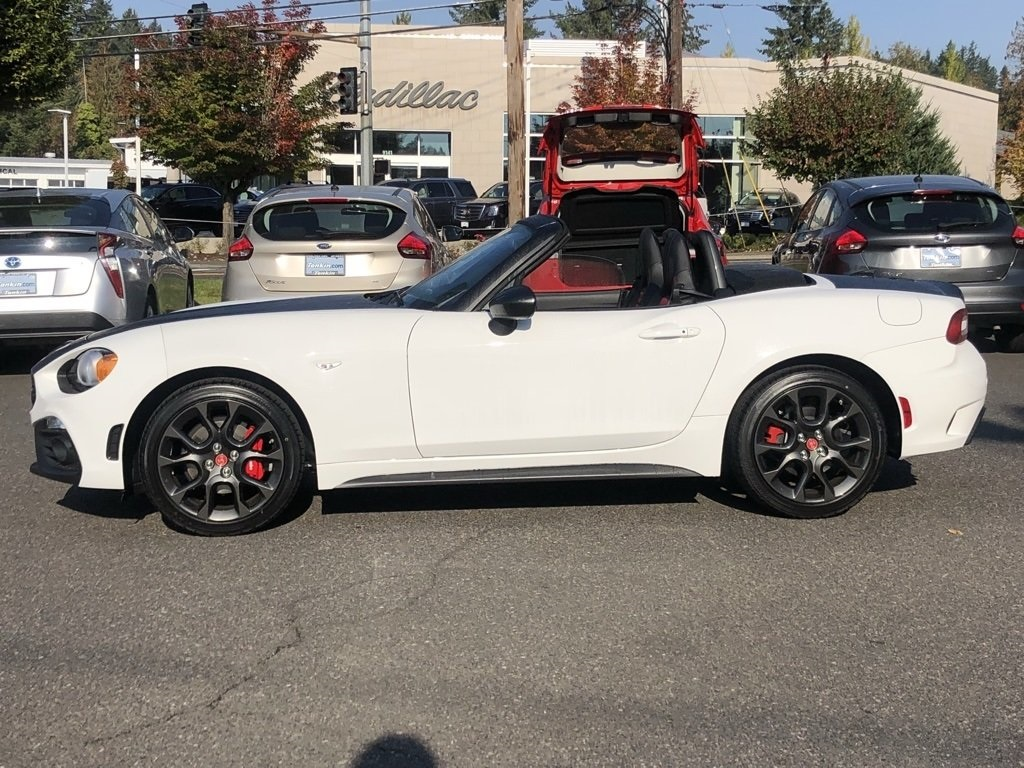 new 2018 fiat 124 spider abarth convertible in portland #f0428021