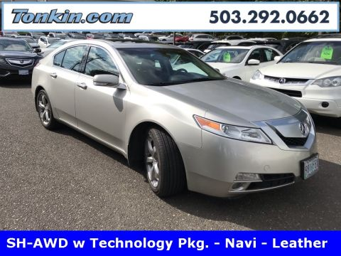 Pre-Owned 2011 Acura TL SH-AWD